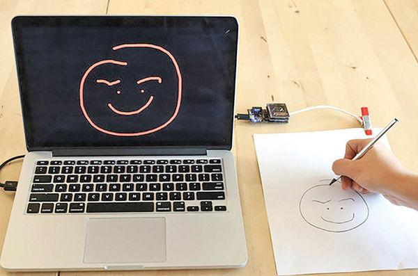 ابداع کاغذی که نوشته را دیجیتالی میکند