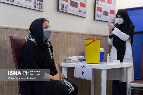 واکسیناسیون بیش از ۱۸ هزار نفر در پایتخت در مراکز سیار