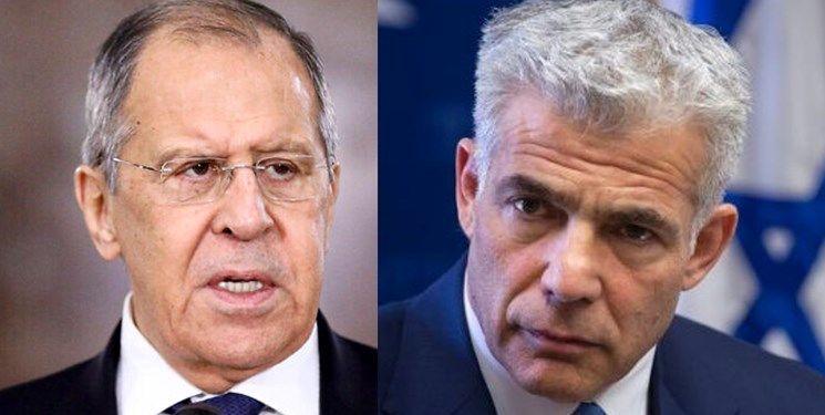لاوروف: مخالف حملات اسرائیل به سوریه هستیم/ لاپید: جولان را به سوریه پس نمیدهیم
