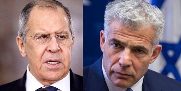 لاوروف: مخالف حملات اسرائیل به سوریه هستیم