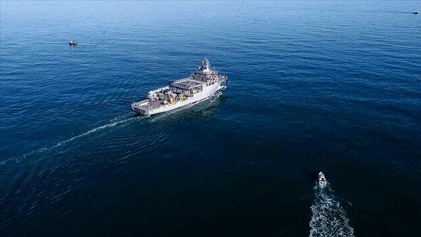 """اقدام """"تحریکآمیز"""" جنگندههای یونانی علیه کشتی تحقیقاتی ترکیه"""