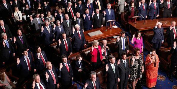 درخواست ۵۶ نماینده کنگره آمریکا از ترامپ برای تحریم کل بخش مالی ایران