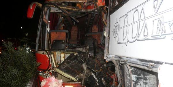 تصادف زنجیره ای در بلوار تندگویان تهران