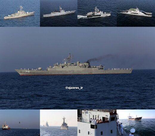 پایان رزمایش مرکب امنیت دریایی شمال اقیانوس هند