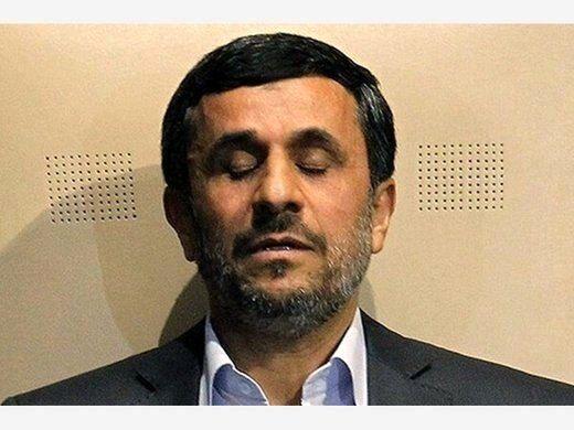 تله انفجاری جلوی پای محمود احمدی نژاد