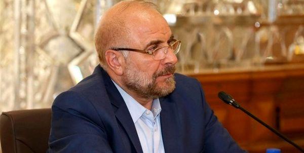 قالیباف دقایقی قبل ایران را به مقصد روسیه ترک کرد