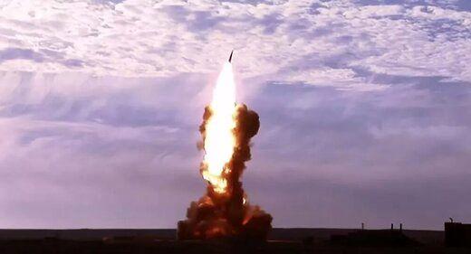 روسیه چندین موشک بالستیک آزمایش کرد