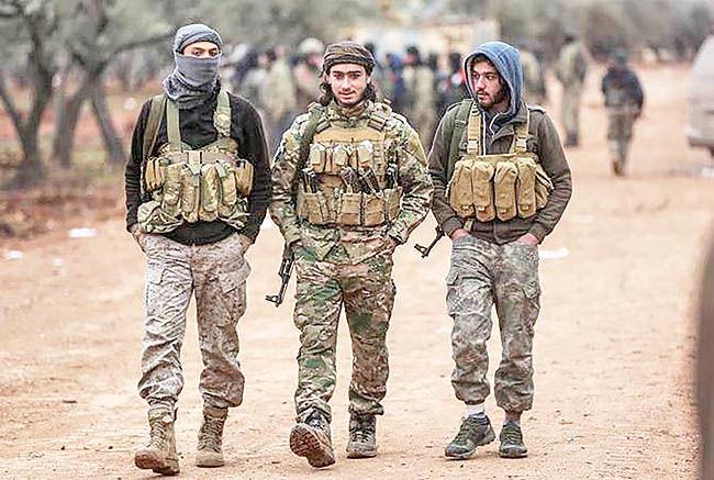 پاسخ روسیه به بحران قره باغ در سوریه
