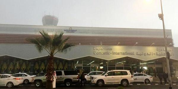 حمله پهپادی ارتش یمن به اهداف نظامی در فرودگاه عربستان