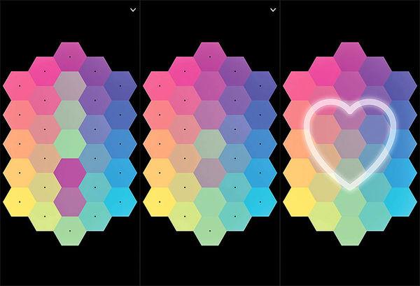 بازی با عشق رنگ