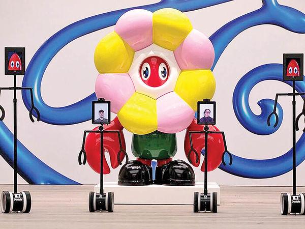 گالریگردی با کمک روباتها