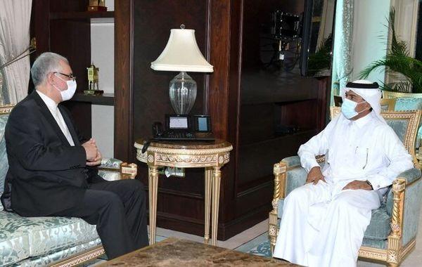 سفیر ایران با دبیرکل وزارت خارجه قطر دیدار کرد