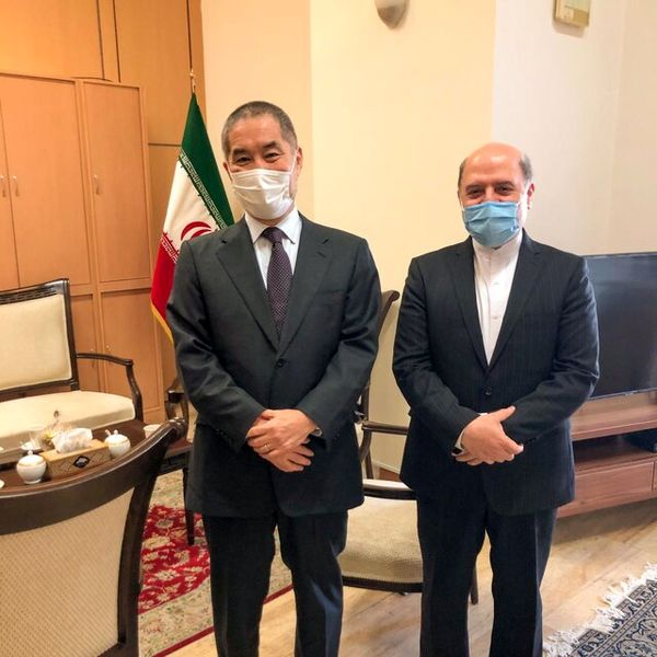 دیدار سفیر ژاپن در ایران با دستیار ظریف