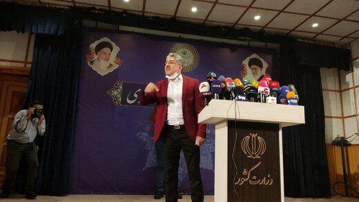 احمدی نژاد جدید وارد میدان انتخابات شد+ عکس
