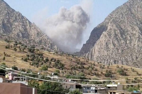 حمله دوباره ترکیه به مواضع گروهک پ.ک.ک