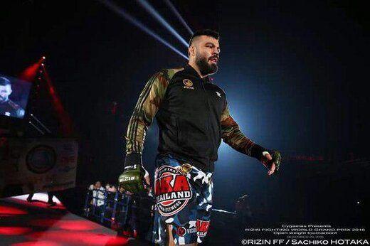 مبارزه علیاکبری با قهرمان MMA لغو شد