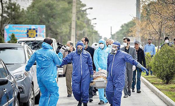 آمار بیسابقه مرگومیر کرونایی در تهران