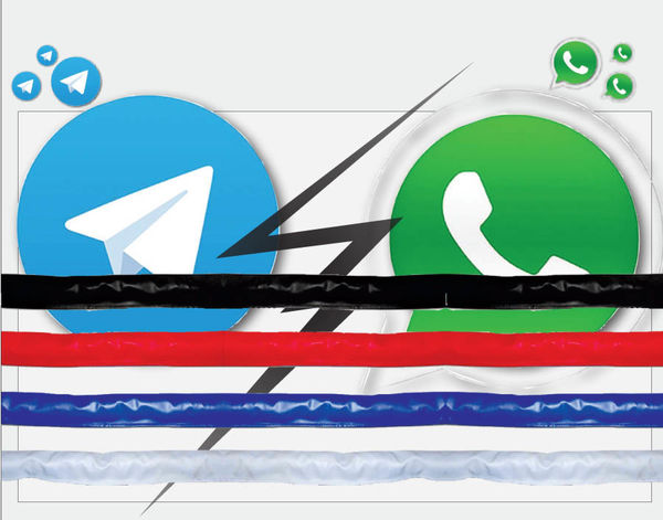 تلگرام یا  واتسآپ؟
