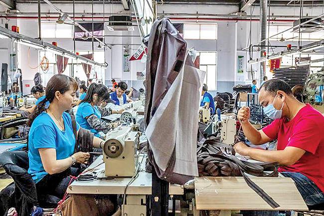 رونق فعالیتهای تولیدی چین