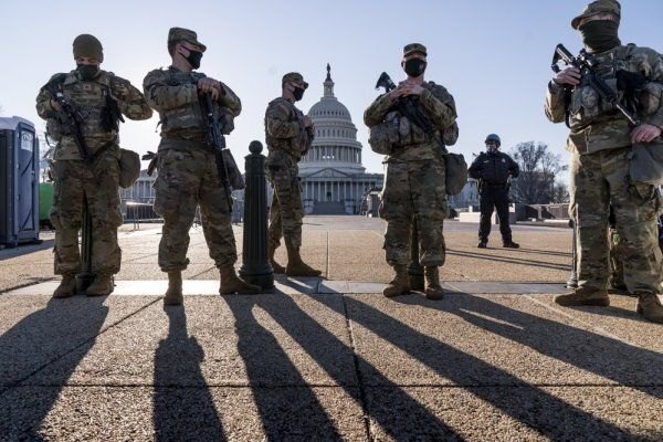 درخواست کمک رییس پلیس کنگره آمریکا از گارد ملی