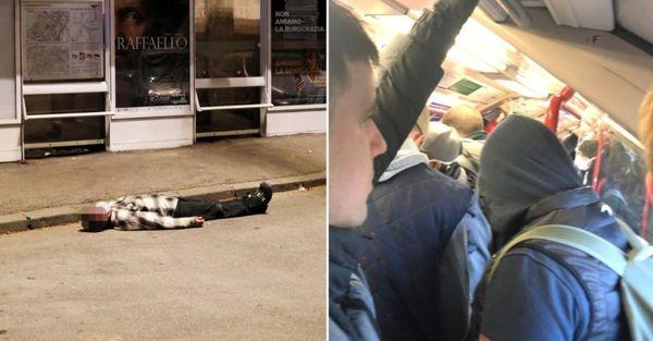 تصاویر عجیب از رفتار مردم انگلیس پس از گسترش کرونا