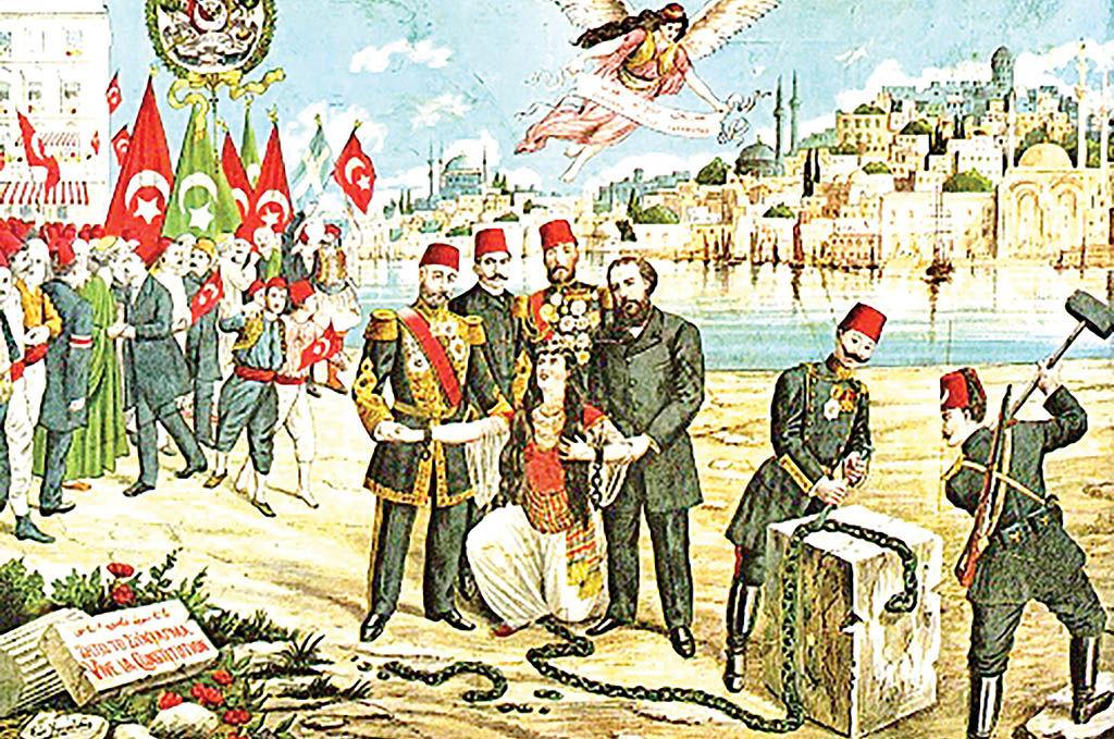 جنبشهای مشروطهخواهی ترکیه و ایران