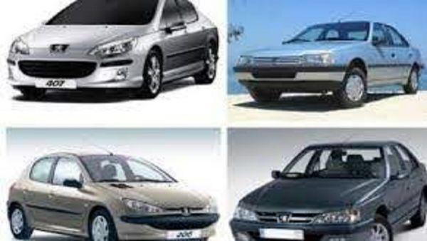 قیمت انواع پژو در بازار خودرو+جدول