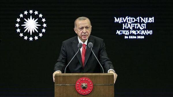 درخواست اردوغان از مردم ترکیه: به هیچ وجه کالاهای فرانسوی نخرید