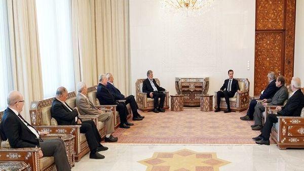 بشار اسد: رژیم صهیونیستی زبان صلح را نمیفهمد