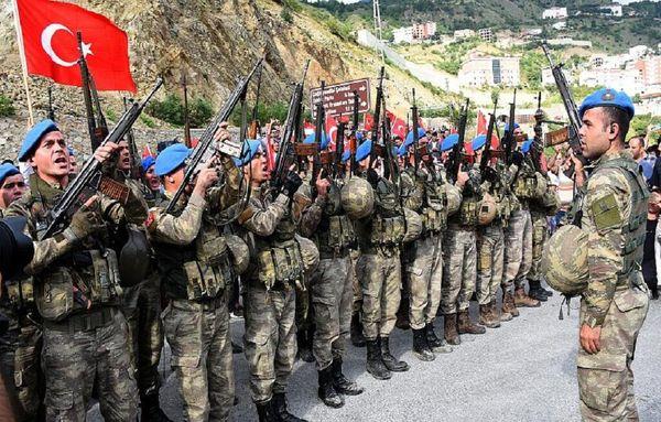 تصیم اردوغان برای اعزام نیروی نظامی به آذربایجان