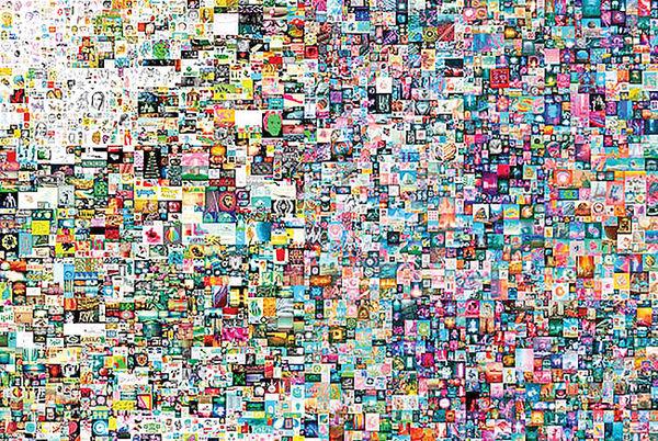 فروش گرانترین اثر هنری دیجیتال