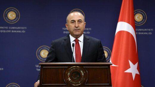 توئیت وزیر خارجه ترکیه پس از دیدار با ظریف