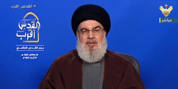 حسن نصرالله: نشانههای افول رژیم صهیونیستی به روشنی دیده میشود