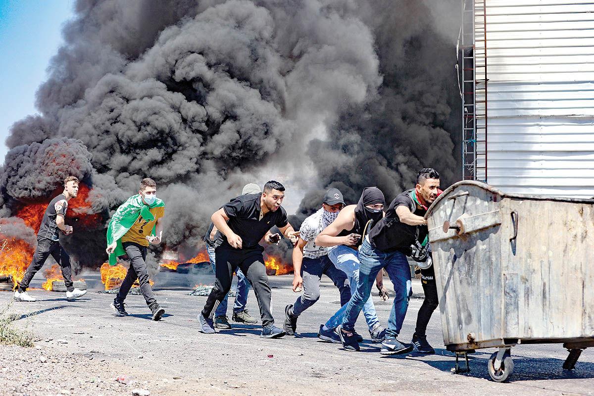 جنگ خیابانی در سرزمینهای اشغالی