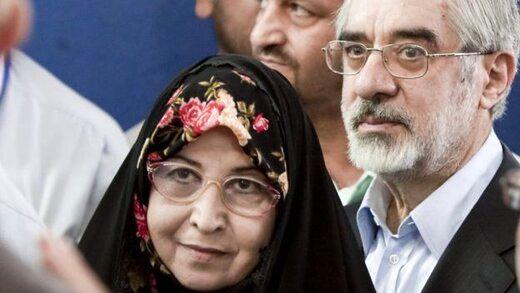 دومین تماس میرحسین موسوی و زهرا رهنورد از حصر با سیدمحمد خاتمی