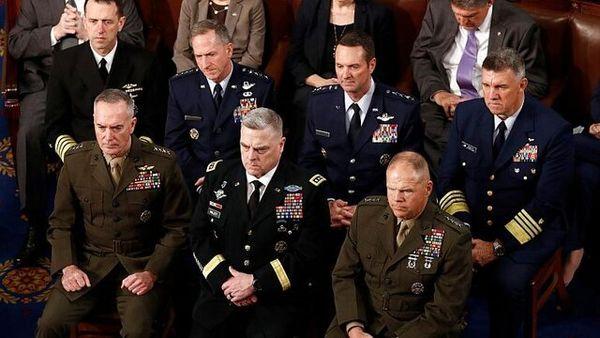 بیانیه مشترک فرماندهان ارشد ارتش آمریکا