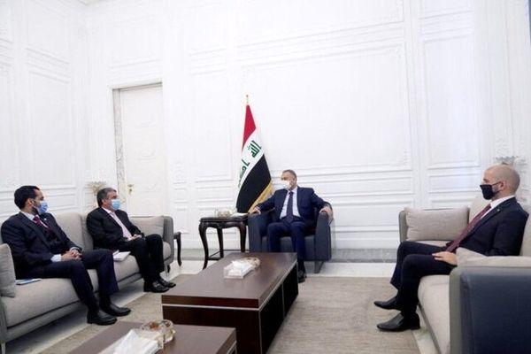 دعوت الکاظمی از نخستوزیر کویت برای سفر به عراق