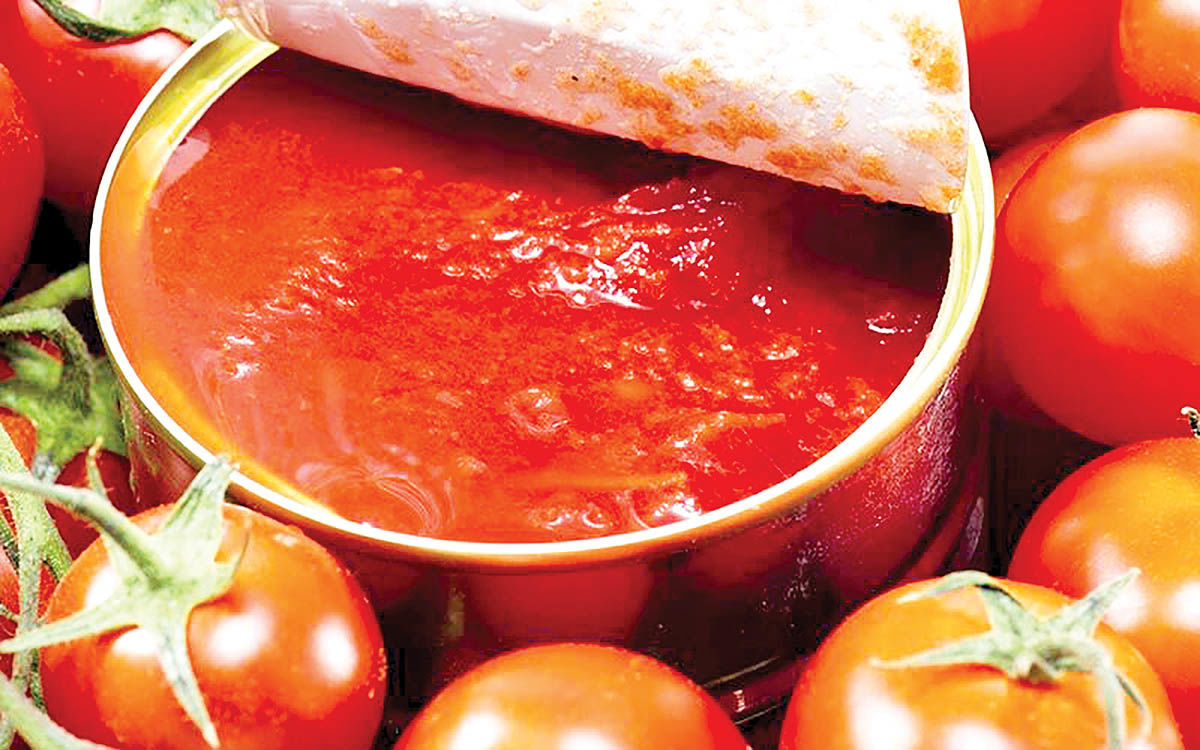 بورس برای رب گوجه مناسب نیست