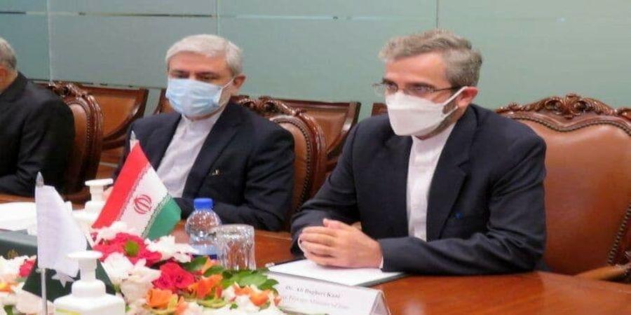 فاجعه در دیدار علی باقری با همتای پاکستانیاش/ پرچم ایران را وارونه گذاشتند!