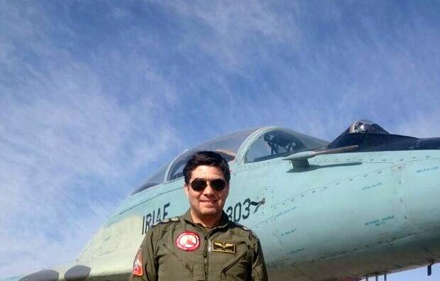 پیکر شهید رحمانی خلبان هواپیمای میگ ۲۹ ارتش تشییع شد