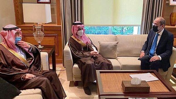 پیام پادشاه عربستان به پادشاه اردن