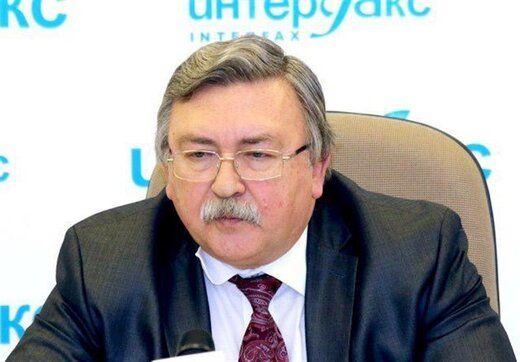 خبر جدید اولیانوف درباره مذاکرات احیای برجام