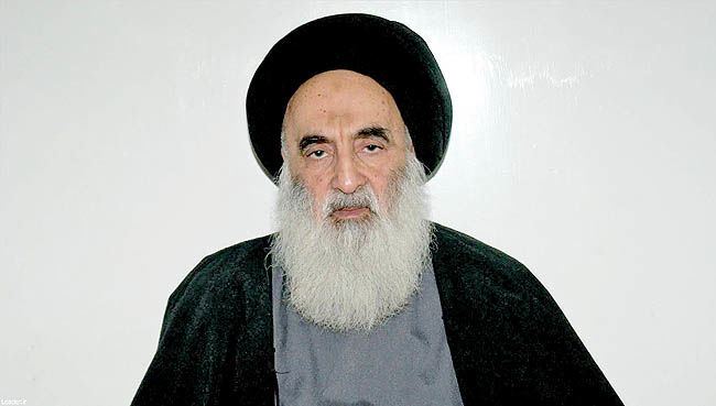 آیتالله سیستانی به رهبر معظم انقلاب اسلامی تسلیت گفت
