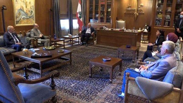 رئیس پارلمان لبنان: آیتالله سیستانی ضمانت وحدت عراق است