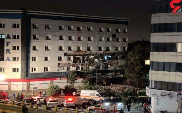 انفجار در غرب تهران/ علت حادثه چه بود؟ + عکس