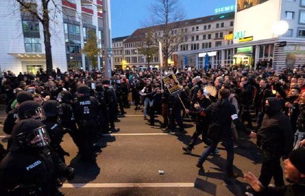 تظاهرات علیه محدودیتهای کرونایی در اروپا