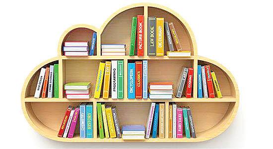 قاب آماری فروش کتاب در دنیا