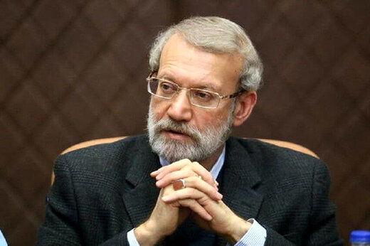 توئیت معناداری که علی لاریجانی منتشر کرد