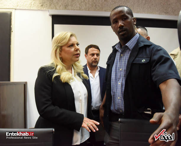 عکس/ محاکمه همسر نتانیاهو
