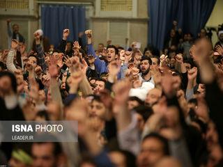 دیدار هزاران نفر از مردم استان آذربایجان شرقی با مقام معظم رهبری